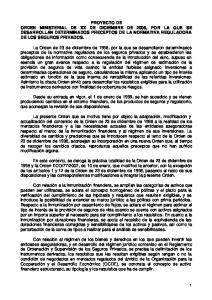 Art. 1 Requisitos que deben cumplir los agentes financieros