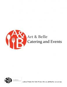 Art & Belle Catering and Events