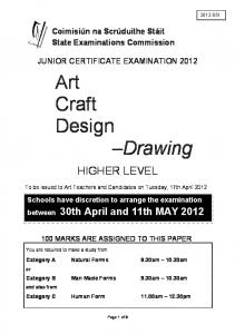 Art Craft Design Drawing