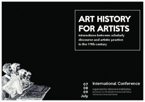 ART HISTORY FOR ARTISTS