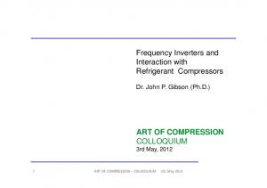 ART OF COMPRESSION COLLOQUIUM