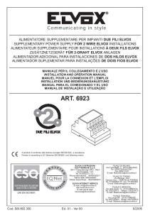 ART UNI EN ISO 9001