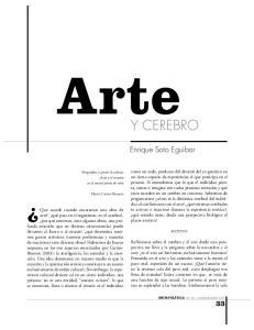 Arte Y CEREBRO. Enrique Soto Eguibar
