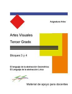 Artes Visuales Tercer Grado