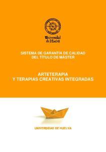 ARTETERAPIA Y TERAPIAS CREATIVAS INTEGRADAS