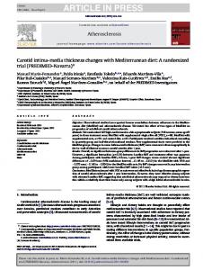ARTICLE IN PRESS Atherosclerosis xxx (2011) xxx xxx