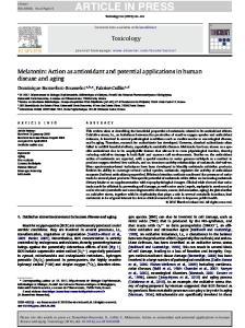 ARTICLE IN PRESS Toxicology xxx (2010) xxx xxx