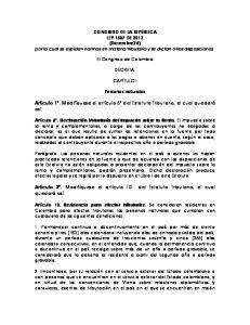 Artículo 1. Modifíquese el artículo 6º del Estatuto Tributario, el cual quedará así: