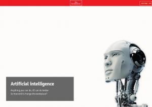 Artificial intelligence. Anything you can do, AI can do better. So how will it change the workplace?
