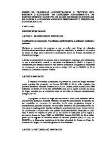 ARTIGO 3.- NATUREZA DO CONTRATO