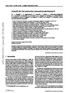 arxiv: v1 [astro-ph] 28 Mar 2008