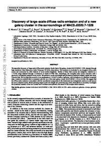 arxiv: v1 [astro-ph.co] 18 Feb 2014
