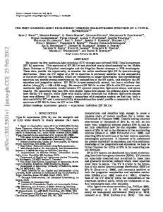 arxiv: v1 [astro-ph.co] 23 Feb 2012