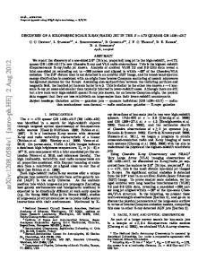 arxiv: v1 [astro-ph.he] 2 Aug 2012