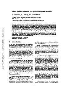 arxiv: v1 [astro-ph.im] 16 Jun 2012