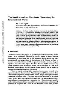 arxiv: v1 [astro-ph.im] 2 Oct 2013
