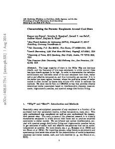 arxiv: v1 [astro-ph.sr] 1 Aug 2014