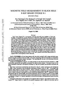 arxiv: v1 [astro-ph.sr] 19 Aug 2009