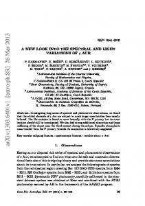 arxiv: v1 [astro-ph.sr] 26 Mar 2013