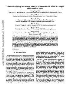 arxiv: v1 [cond-mat.str-el] 1 Jun 2008