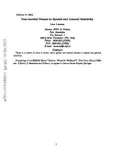 arxiv: v1 [gr-qc] 16 Oct 2013