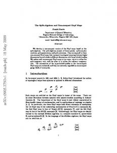 arxiv: v1 [math-ph] 18 May 2009