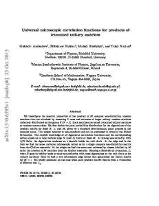 arxiv: v1 [math-ph] 23 Oct 2013