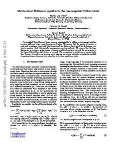 arxiv: v1 [math-ph] 8 Feb 2013