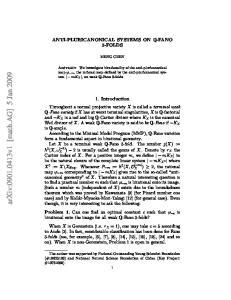 arxiv: v1 [math.ag] 5 Jan 2009