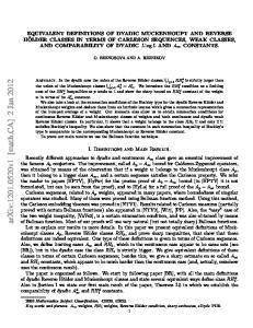 arxiv: v1 [math.ca] 2 Jan 2012