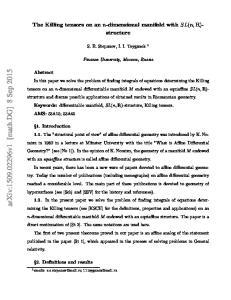 arxiv: v1 [math.dg] 8 Sep 2015