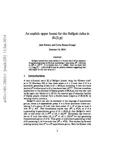 arxiv: v1 [math.gr] 13 Jan 2014