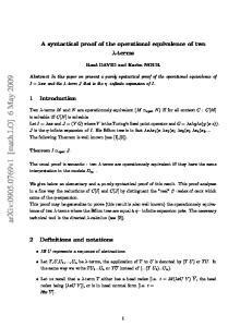 arxiv: v1 [math.lo] 6 May 2009