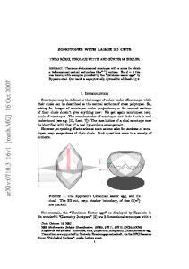 arxiv: v1 [math.mg] 16 Oct 2007