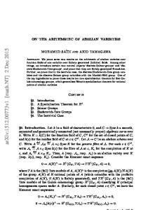 arxiv: v1 [math.nt] 2 Dec 2015