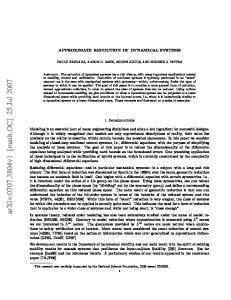 arxiv: v1 [math.oc] 25 Jul 2007