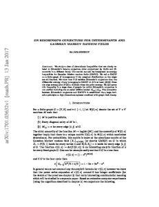 arxiv: v1 [math.pr] 13 Jan 2017