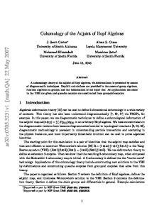 arxiv: v1 [math.qa] 22 May 2007