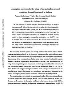 arxiv: v1 [physics.atom-ph] 11 Jun 2007