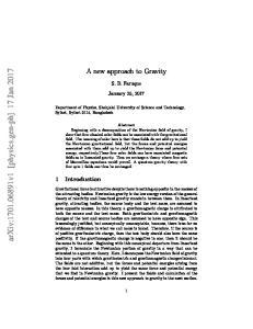 arxiv: v1 [physics.gen-ph] 17 Jan 2017