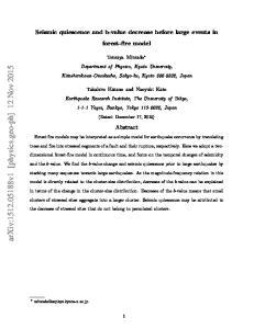 arxiv: v1 [physics.geo-ph] 12 Nov 2015