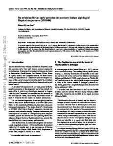 arxiv: v1 [physics.hist-ph] 2 Nov 2012