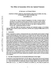 arxiv: v1 [physics.optics] 14 Jul 2010