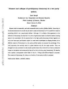 arxiv: v1 [physics.soc-ph] 13 Oct 2015