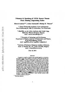 arxiv: v1 [physics.soc-ph] 18 Jun 2014