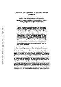 arxiv: v1 [q-bio.nc] 22 Apr 2014