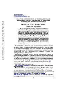 arxiv: v1 [q-fin.pr] 16 Apr 2008