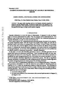 arxiv: v2 [math.gr] 5 Nov 2015