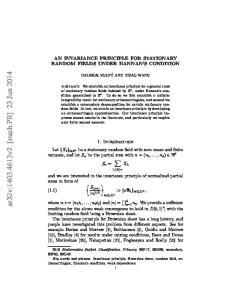 arxiv: v2 [math.pr] 23 Jun 2014