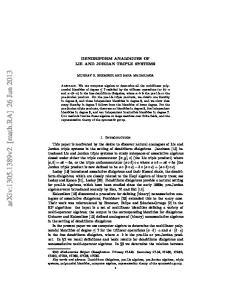 arxiv: v2 [math.ra] 26 Jun 2013